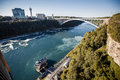 Niagara falls view of from us side Royalty Free Stock Images
