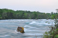The Niagara River Royalty Free Stock Photo