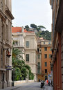 Nice Architecture, Cote d'Azur, France Royalty Free Stock Photo