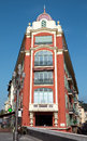 Nice - Architecture of Place Massena Stock Photography