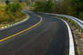 Nice asphalt road Royalty Free Stock Photo