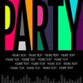 Nice and beautiful abstract or Night Party Flyers with creative
