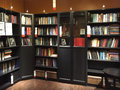 Nice bookcase background Royalty Free Stock Photo