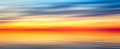 Nice bright red yellow blue abstract blur horizontal  texture background panorama landscape with sunset lake Royalty Free Stock Photo