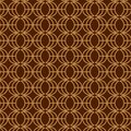 Nice Brown Pattern design Template Royalty Free Stock Photo