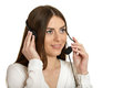Nice call operator Royalty Free Stock Photo