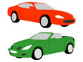 Nice car illustrations Stock Photo