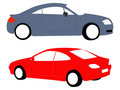 Nice car illustrations Royalty Free Stock Images