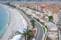 Nice cityscape, French Riviera Royalty Free Stock Photo