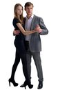 Couple in dance Royalty Free Stock Photo