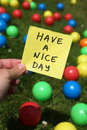 Nice day Royalty Free Stock Photo