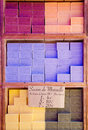 NICE, FRANCE. Pure vegetable soap made in Provence Royalty Free Stock Photo