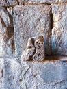 a historial stone in Armenia