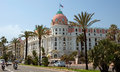 Nice hotel negresco france may luxury on may in france is the famous luxury on the promenade des anglais Royalty Free Stock Photography