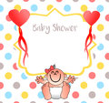 A nice invitation for your baby shower