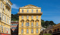 Nice old building in the cours saleya france french riviera Stock Images