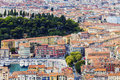 Nice panorama seen from Mt Boron Royalty Free Stock Photo