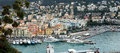 Nice panoramic view of port de nice france april on april in france was started in Stock Image