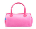 Nice pink woman handbag Royalty Free Stock Photography