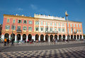 Nice - Plaza Massena Square Stock Image
