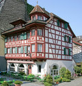 Nice Swiss Mansion 12 Stock Images