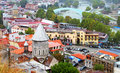 Nice view of Tbilisi Royalty Free Stock Photos