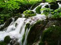 Nice waterfall in croatia national park where they were shooting a film about winnetou Stock Photo
