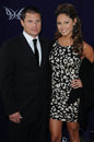 Nick Lachey,Vanessa Minnillo Stock Photo
