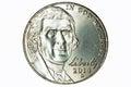 2014 Nickel Royalty Free Stock Photo