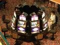 Nickel Slots Stock Image
