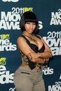 Nicki minaj mtv movie awards press room gibson amphitheatre universal city ca Stock Photos