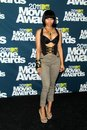 Nicki minaj at the mtv movie awards press room gibson amphitheatre universal city ca Royalty Free Stock Photography