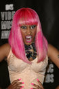 Nicki minaj at the mtv video music awards press room nokia theatre l a live los angeles ca Stock Photos