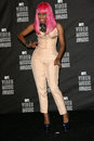 Nicki minaj at the mtv video music awards press room nokia theatre l a live los angeles ca Royalty Free Stock Image