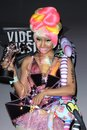 Nicki minaj in the mtv video music awards press room nokia theatre la live los angeles ca Royalty Free Stock Image