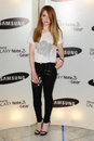 Nicola roberts arrives for the samsung galaxy gear and galaxy note uk launch at the me hotel london picture by steve vas Royalty Free Stock Photography