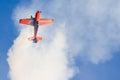 Nicolas ivanoff hamilton aircraft edge festa al cel sky party air show september Royalty Free Stock Photos