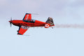 Nicolas ivanoff hamilton aircraft edge festa al cel sky party air show september Royalty Free Stock Images