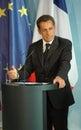 Nicolas Sarkozy Royalty Free Stock Photo