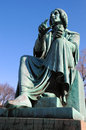 Nicolaus copernicus montreal statue of was a renaissance astronomer and the first person to formulate a comprehensive heliocentric Royalty Free Stock Photography