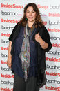 Nicole barber lane arriving for the inside soap awards launch party at rosso restaurant manchester picture by steve vas Royalty Free Stock Image