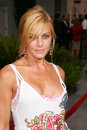 Nicole eggert los angeles premiere hustle flow cinerama dome hollywood ca Royalty Free Stock Photography