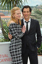 Nicole Kidman & Clive Owen Stock Photography