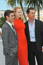 Nicole Kidman & Zac Efron & Matthew McConaughey Royalty Free Stock Photography