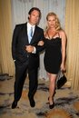 Nicolette sheridan stephen pate at the th annual prism awards beverly hills hotel beverly hills ca Stock Image