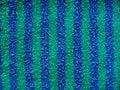 Niebieska tkaniny green goły Terry Obraz Stock