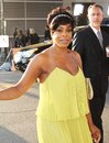 Niecy nash attends haunted house premiere Royalty Free Stock Image