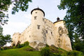 Niedzica castle poland mediewal in Royalty Free Stock Images