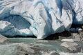 Nigardsbreen Glacier Royalty Free Stock Photo