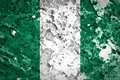 Nigeria Flag Royalty Free Stock Photo
